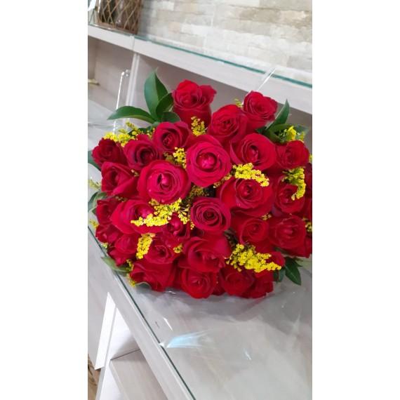 Buquê 36 rosas