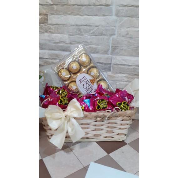 Cesta Chocolate Caramella