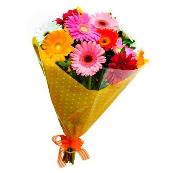 Buquê de Flores Presente das Gérberas