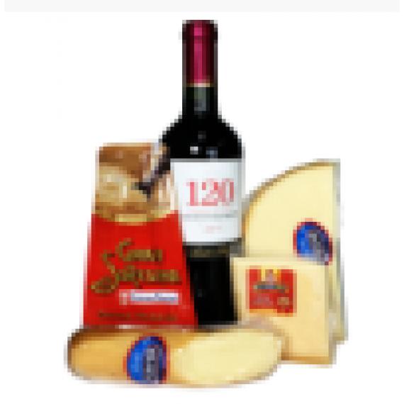 Kit de Queijos e Vinho