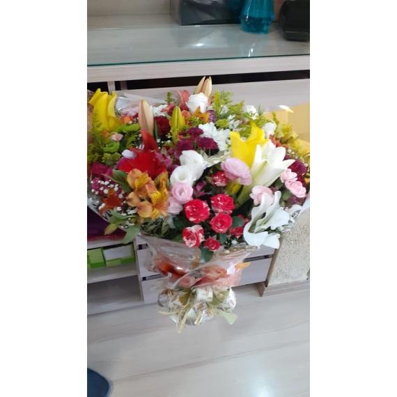Buquê Mix Flores do Campo